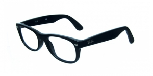 RAY-BAN RX5184 » SHINY BLACK