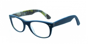 Ray-Ban RX5184 5407 TOP BLUE ON TEXTURE